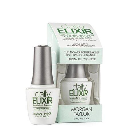 Daily elixir keratin nail treatment
